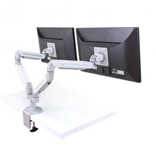 桌用雙螢幕架